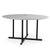 140 cm Black Jack  quartz Dinning Table  DT002