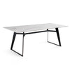 Black Jack  quartz Dinning Table  DT001 - ebarza