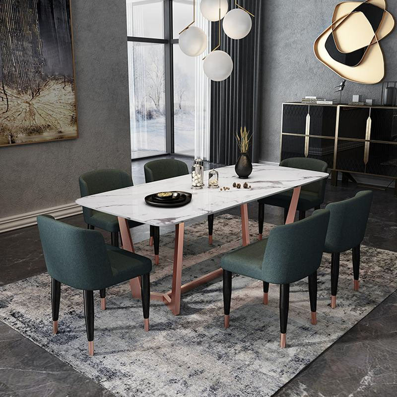Venice  ARTIFICIAL  marble Dining table TG-282