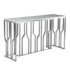 Natural Marble & Stainless Steel console Table BP8812- S-S