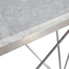 Natural Marble & Stainless Steel Table BP8810- B - ebarza