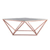 Natural Marble & Stainless Steel Table BP8809- B - ebarza