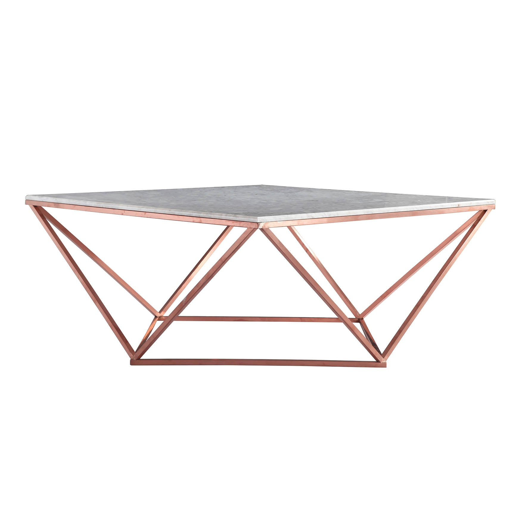 Natural Marble & Stainless Steel Table BP8809- B -  طاول من الرخام الطبيعي والفولاذ المقاوم للصدأ - Shop Online Furniture and Home Decor Store in Dubai, UAE at ebarza