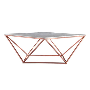 Natural Marble & Stainless Steel Table BP8809- B