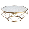 Natural Marble & Stainless Steel Table BP8811- B - ebarza