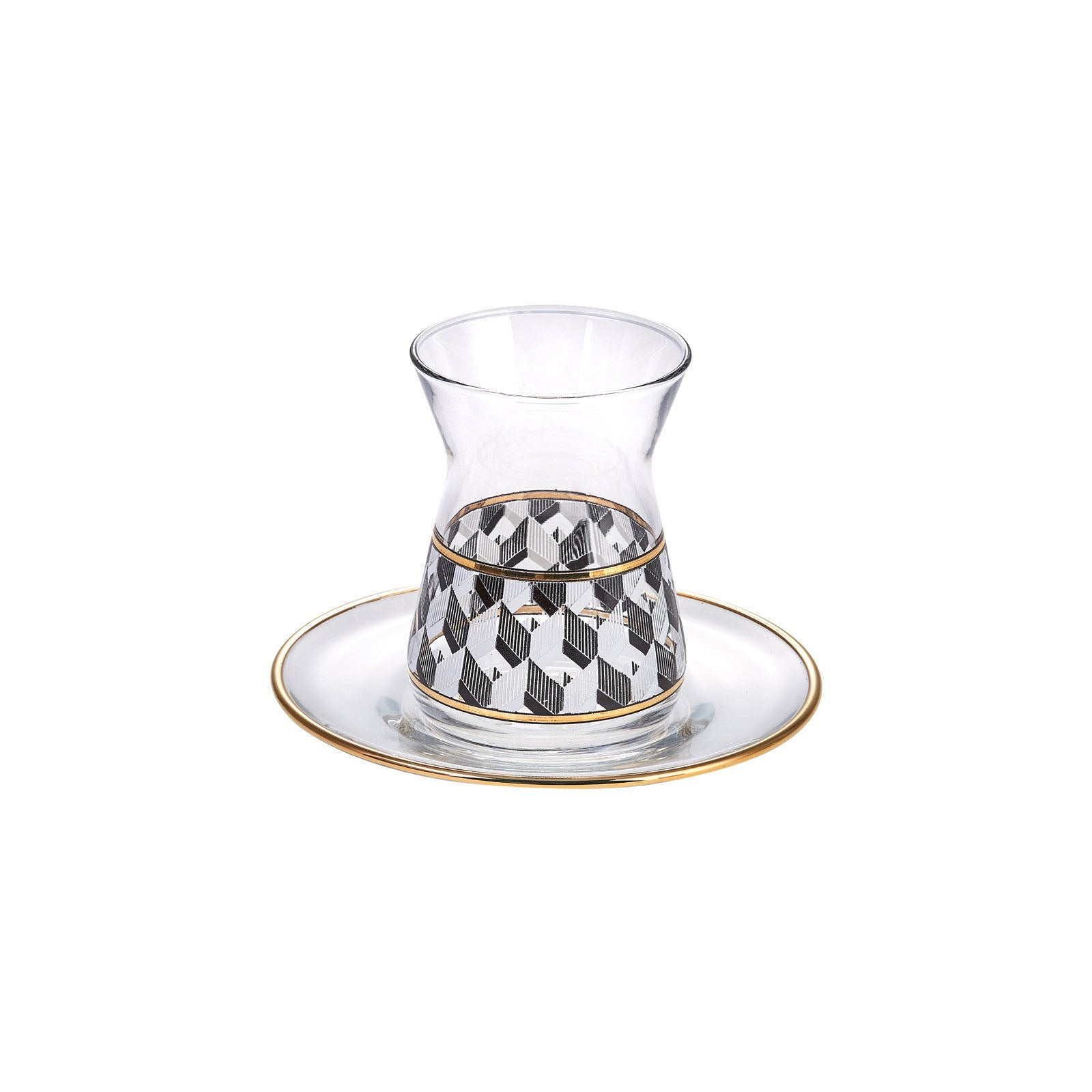 Karaca Alfa 12 Piece Tea Set 153.03.06.1338 -  طقم شاي كاراجا الفا 12 قطعة - Shop Online Furniture and Home Decor Store in Dubai, UAE at ebarza