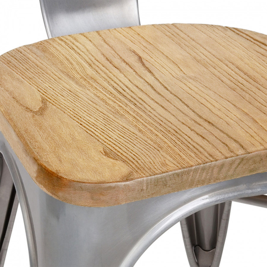 Dinning Chair with solid wood seat T01-TX0036SN - ebarza