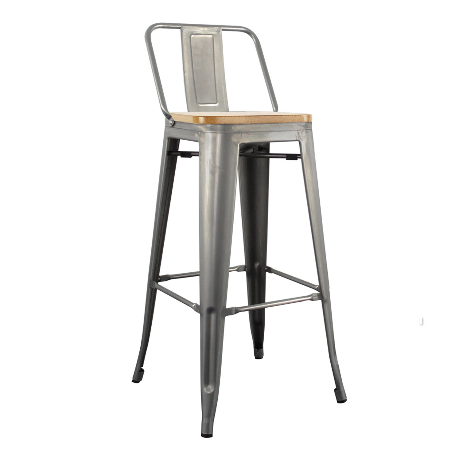 Bar Stool MC-012PC-SN -  كرسي بار - Shop Online Furniture and Home Decor Store in Dubai, UAE at ebarza