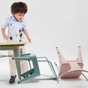 Kids Chair-Metal-K01-P