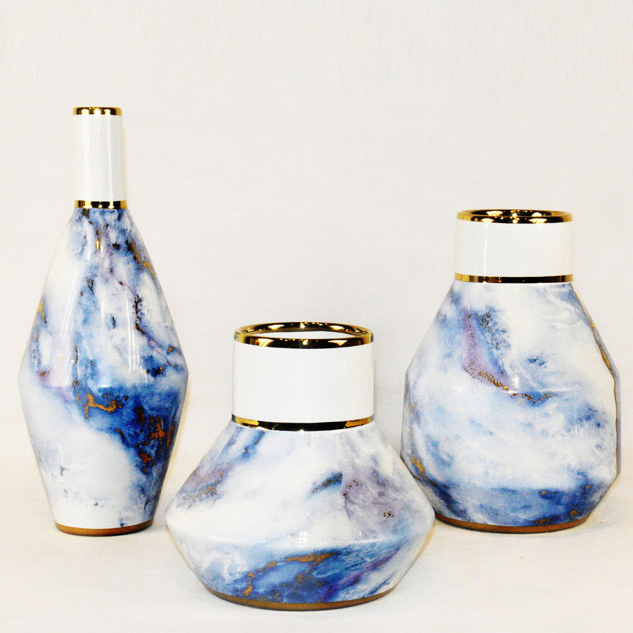 Set of 3 Handmade   ceramic Vase  HT8051HA+B+C
