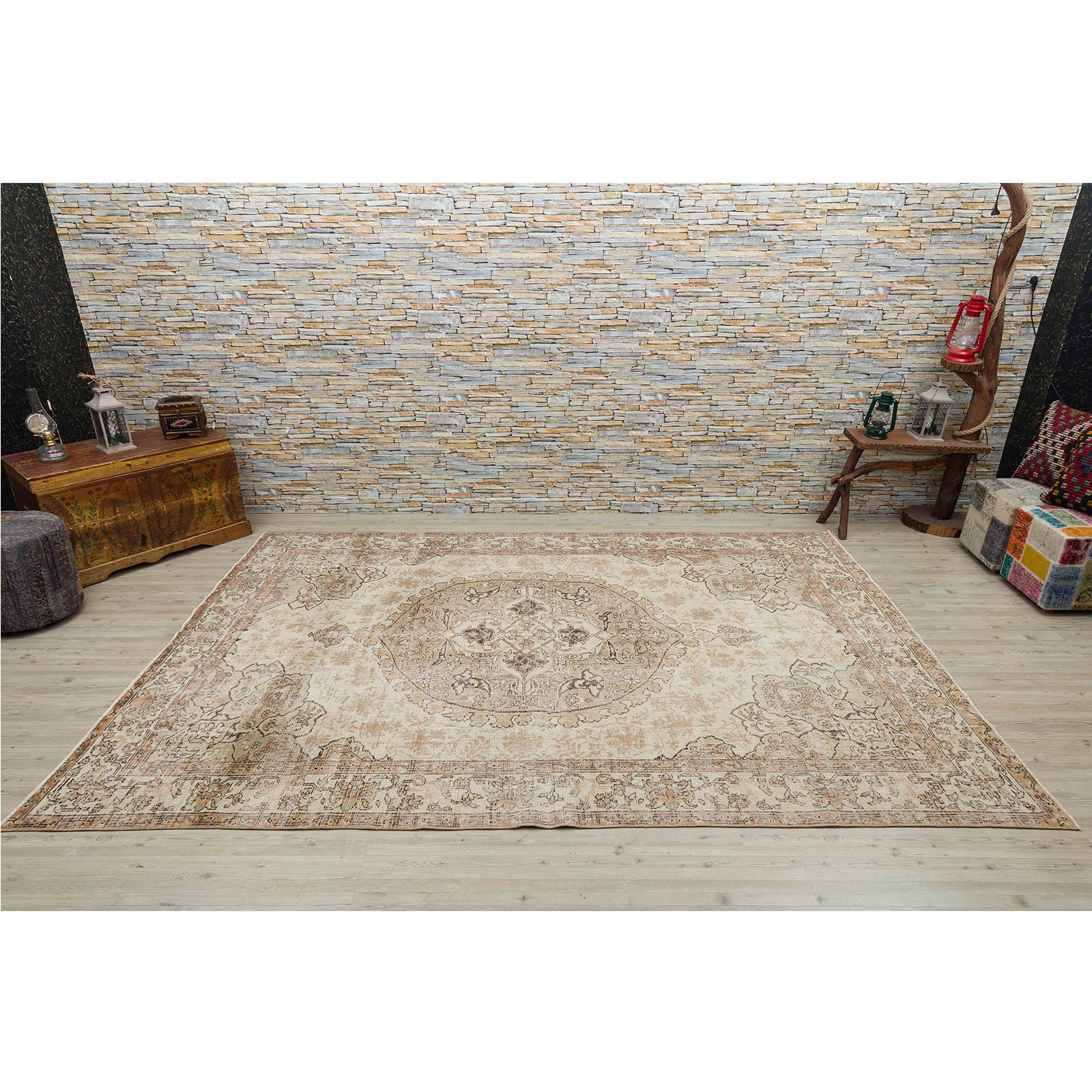 Hali 209X308  CM Bursa Handmade over dyed rug  2532