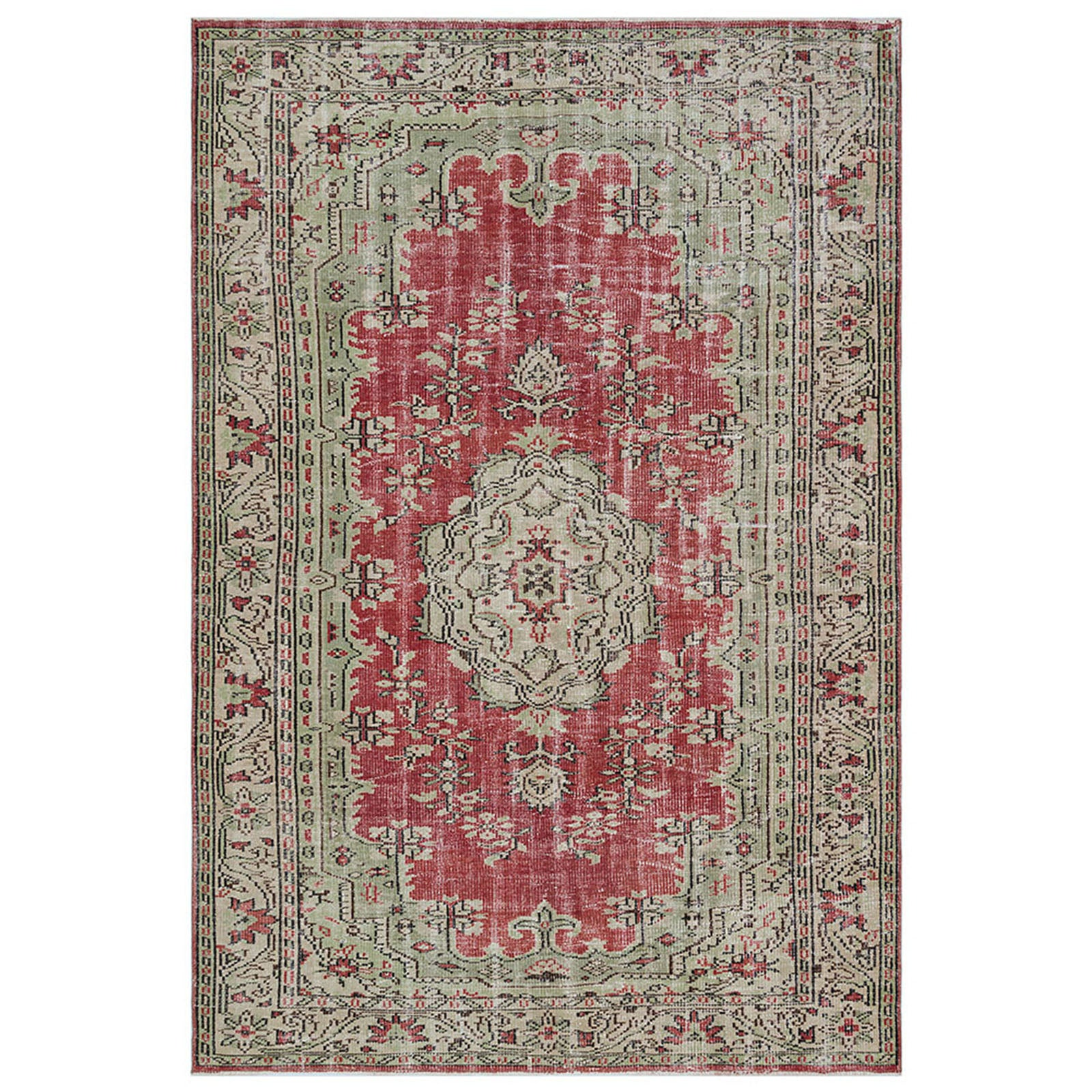 Hali 179X260  CM Bursa Handmade over dyed rug  2033 -  179*260 سجاده بورصة صناعة يدوية على بساط مصبوغ - Shop Online Furniture and Home Decor Store in Dubai, UAE at ebarza