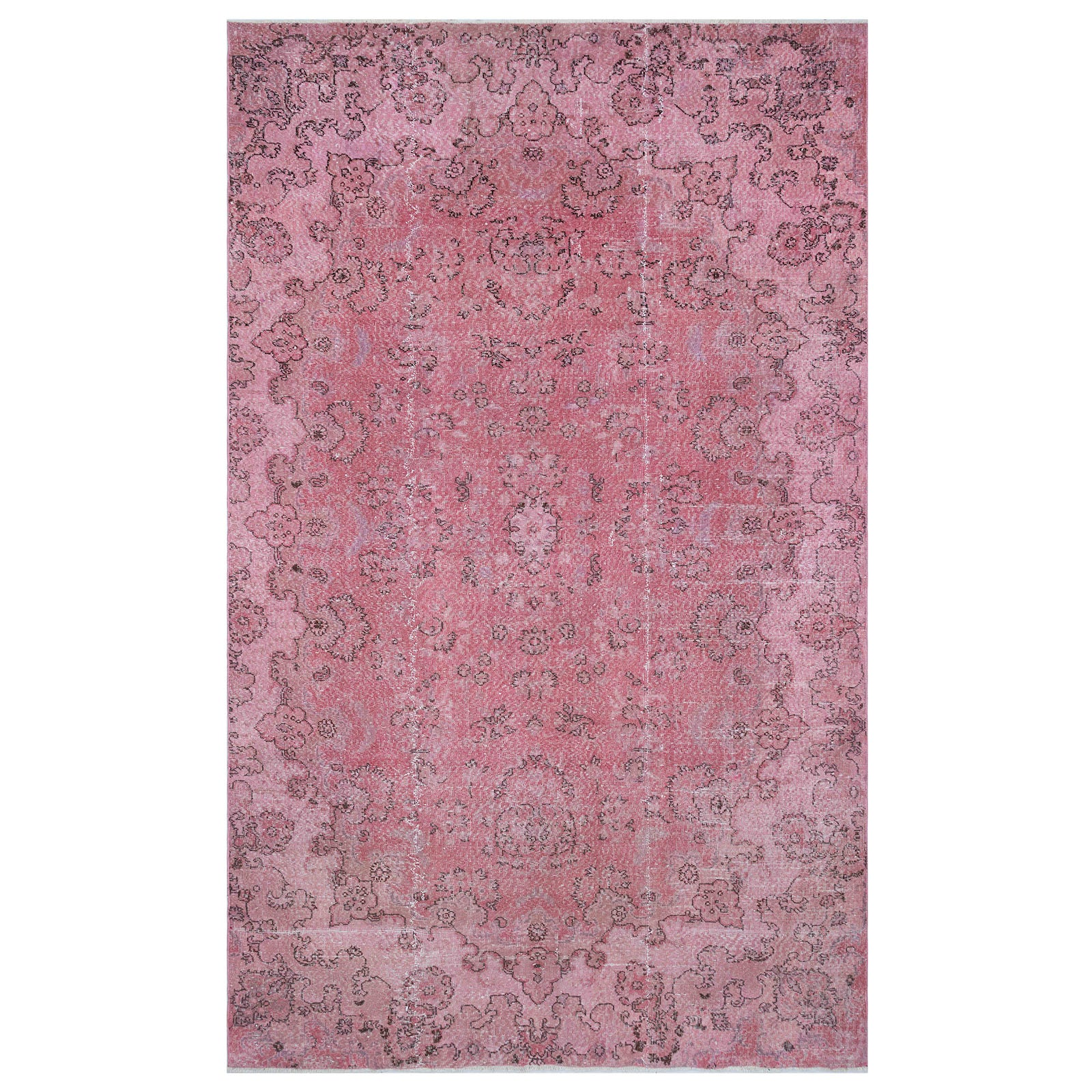 Hali 196X320  CM Bursa Handmade over dyed rug  1583