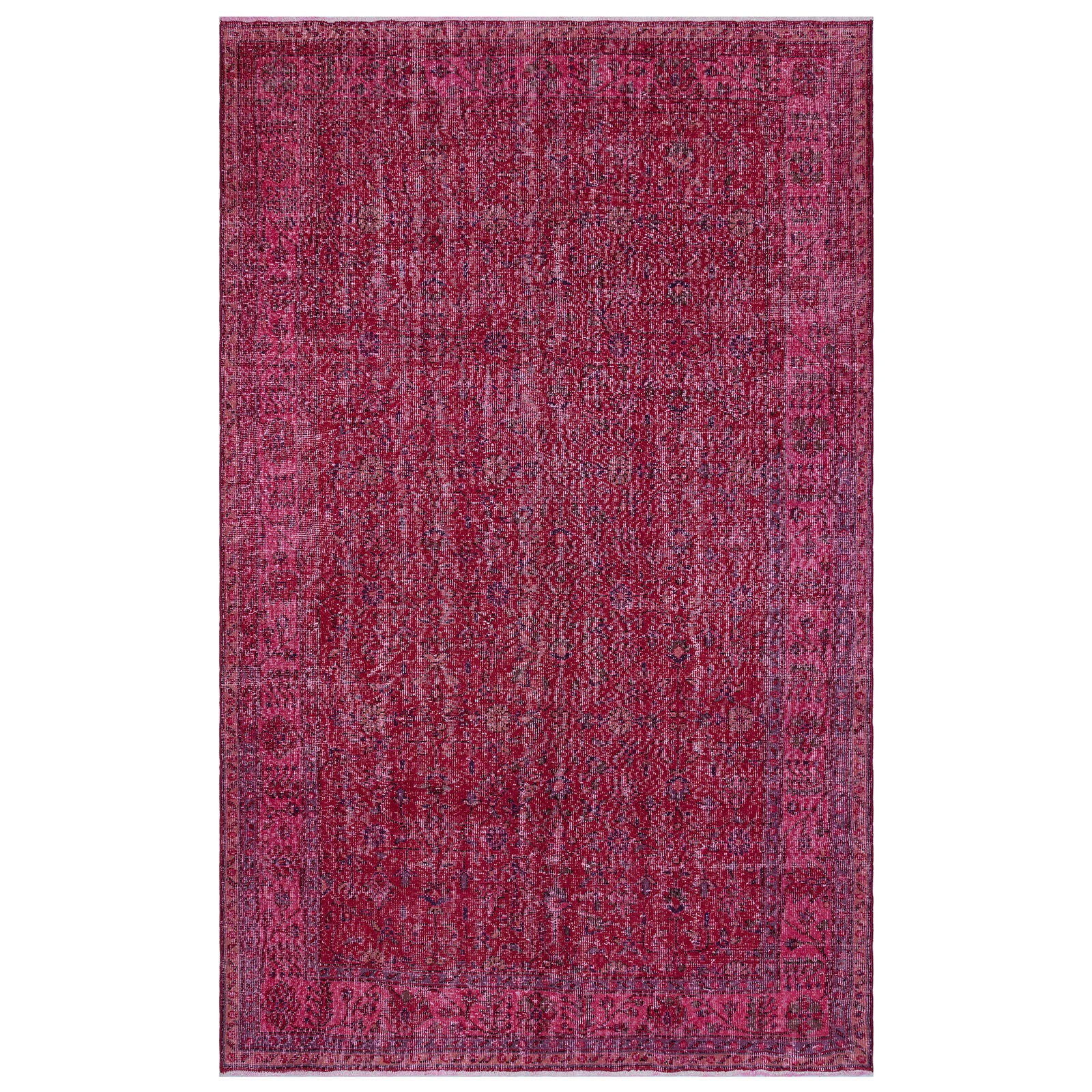 Hali 190X309  CM Bursa Handmade over dyed rug  1581