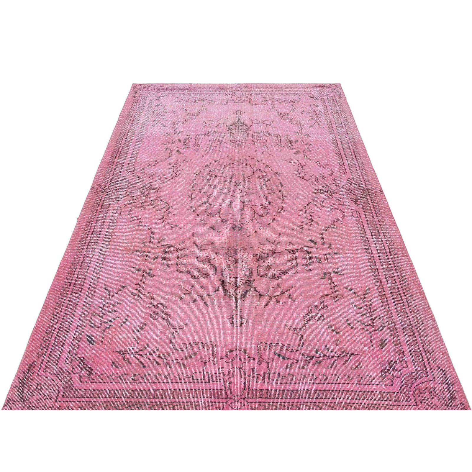 Hali 143X237  CM Bursa Handmade over dyed rug  1388