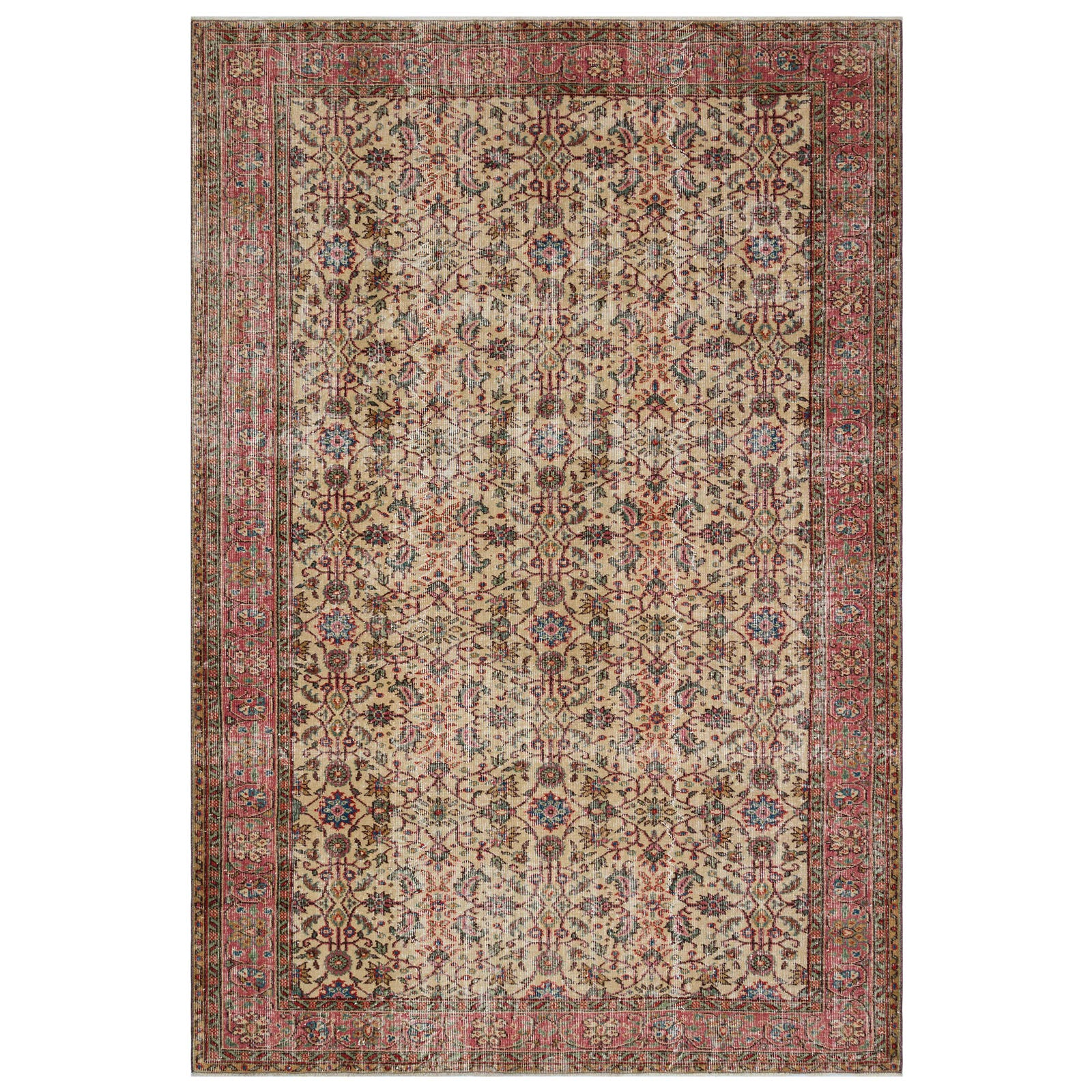 Hali 205X297 CM Bursa Handmade over dyed rug 1816