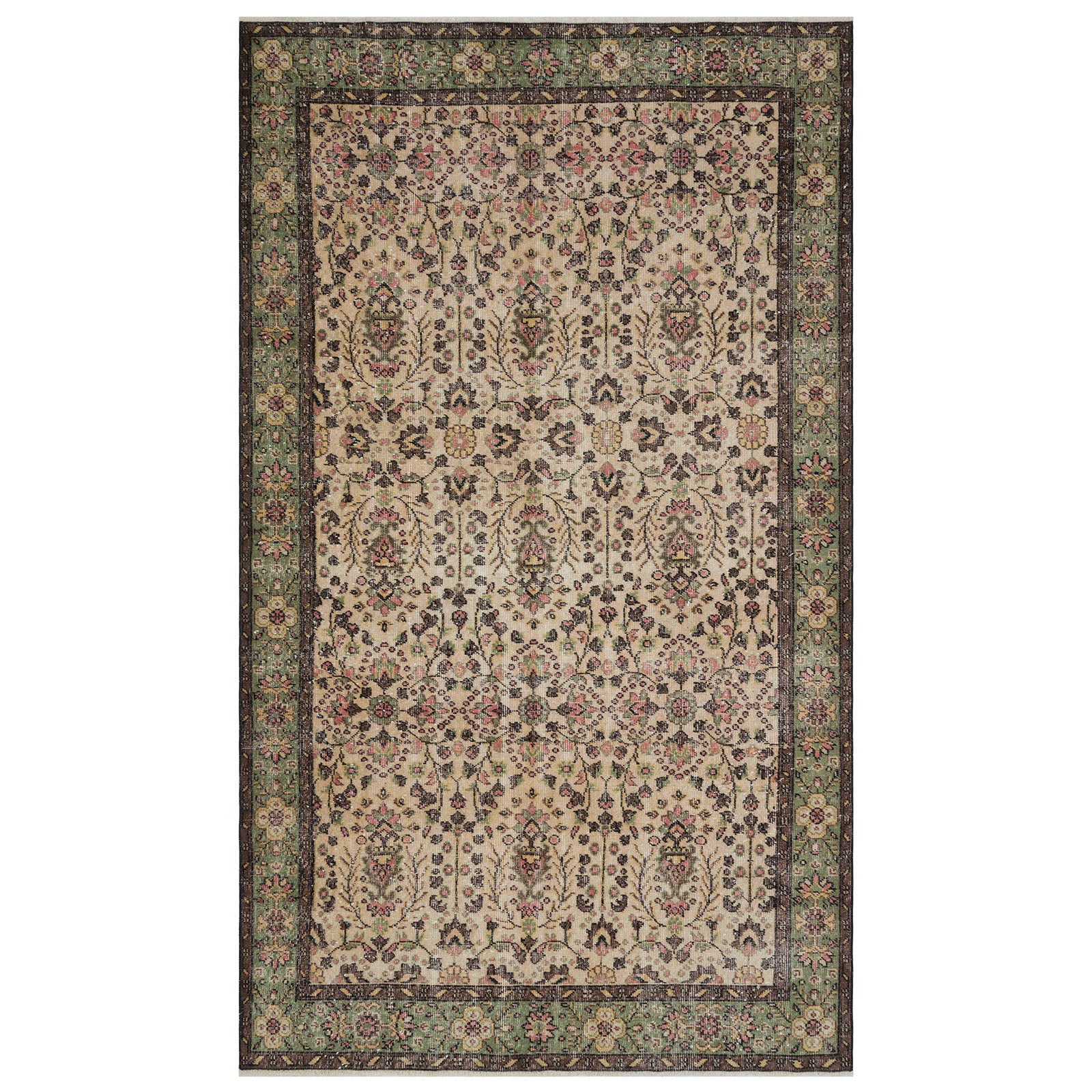 Hali 174X294 CM Bursa Handmade over dyed rug 1807