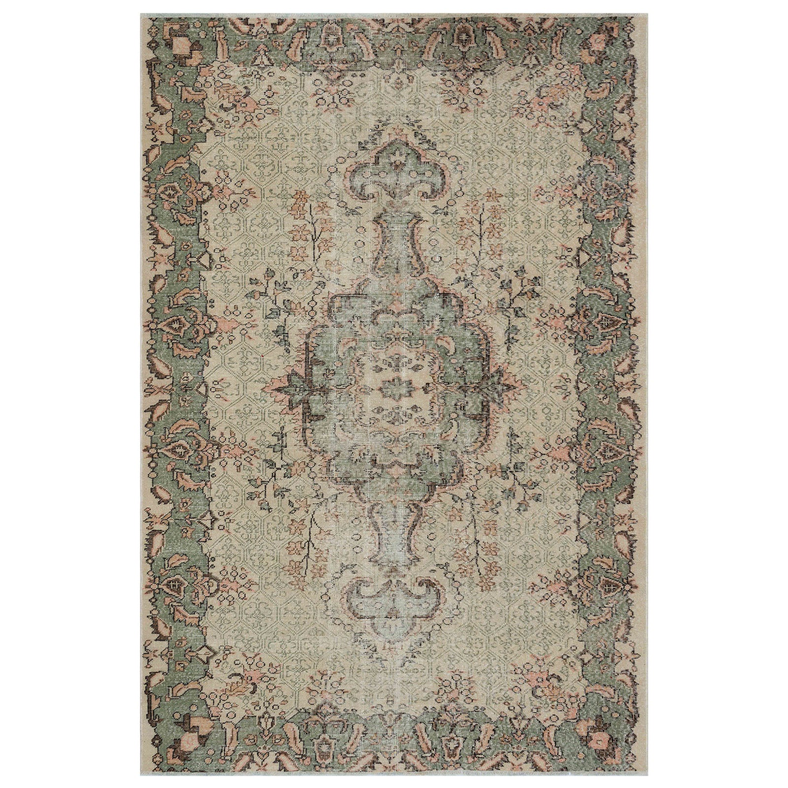 Hali 190X280 CM Bursa Handmade over dyed rug 1783 -  190*280 سجاده بورصة صناعة يدوية على بساط مصبوغ - Shop Online Furniture and Home Decor Store in Dubai, UAE at ebarza