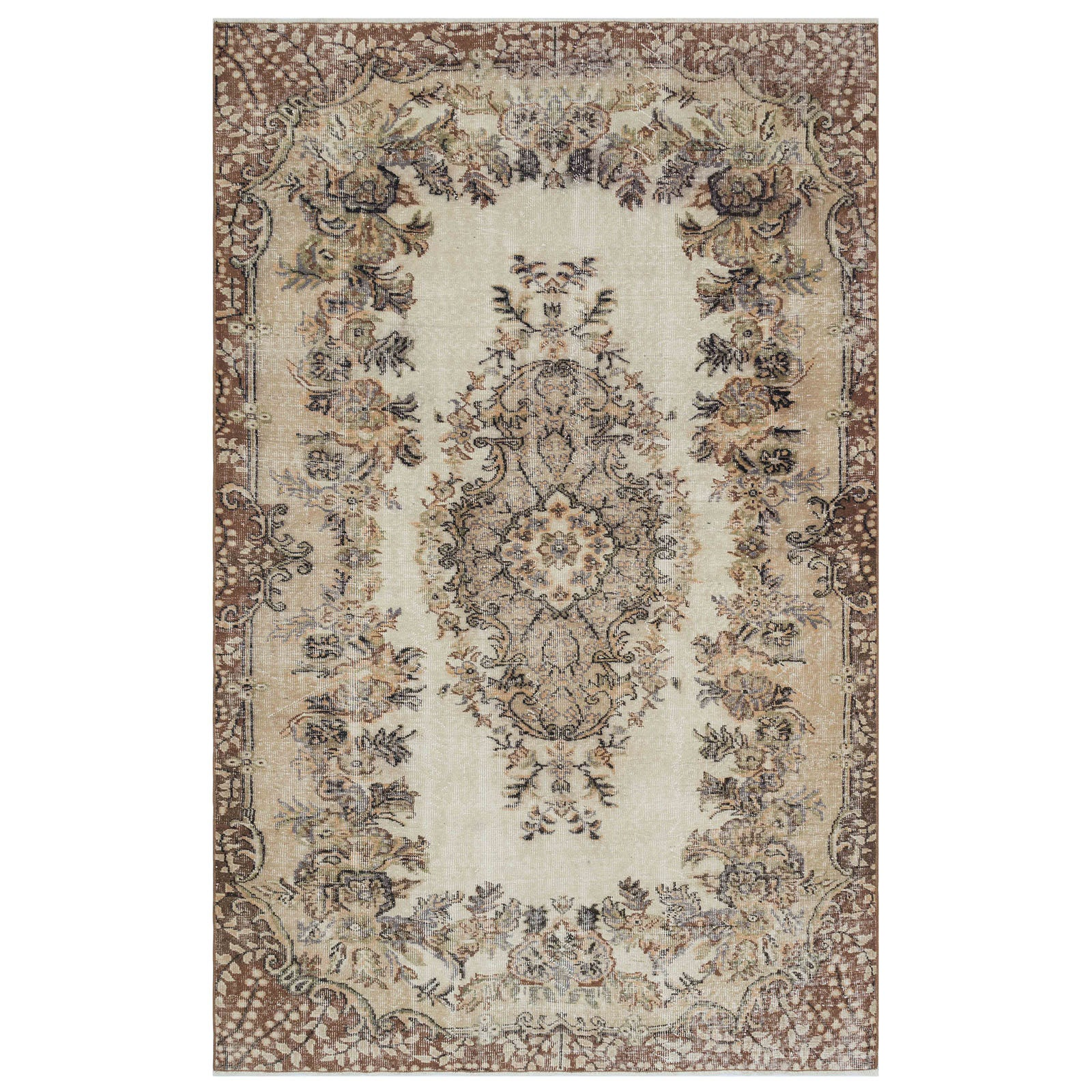 Hali 165X256 CM Bursa Handmade over dyed rug 1777