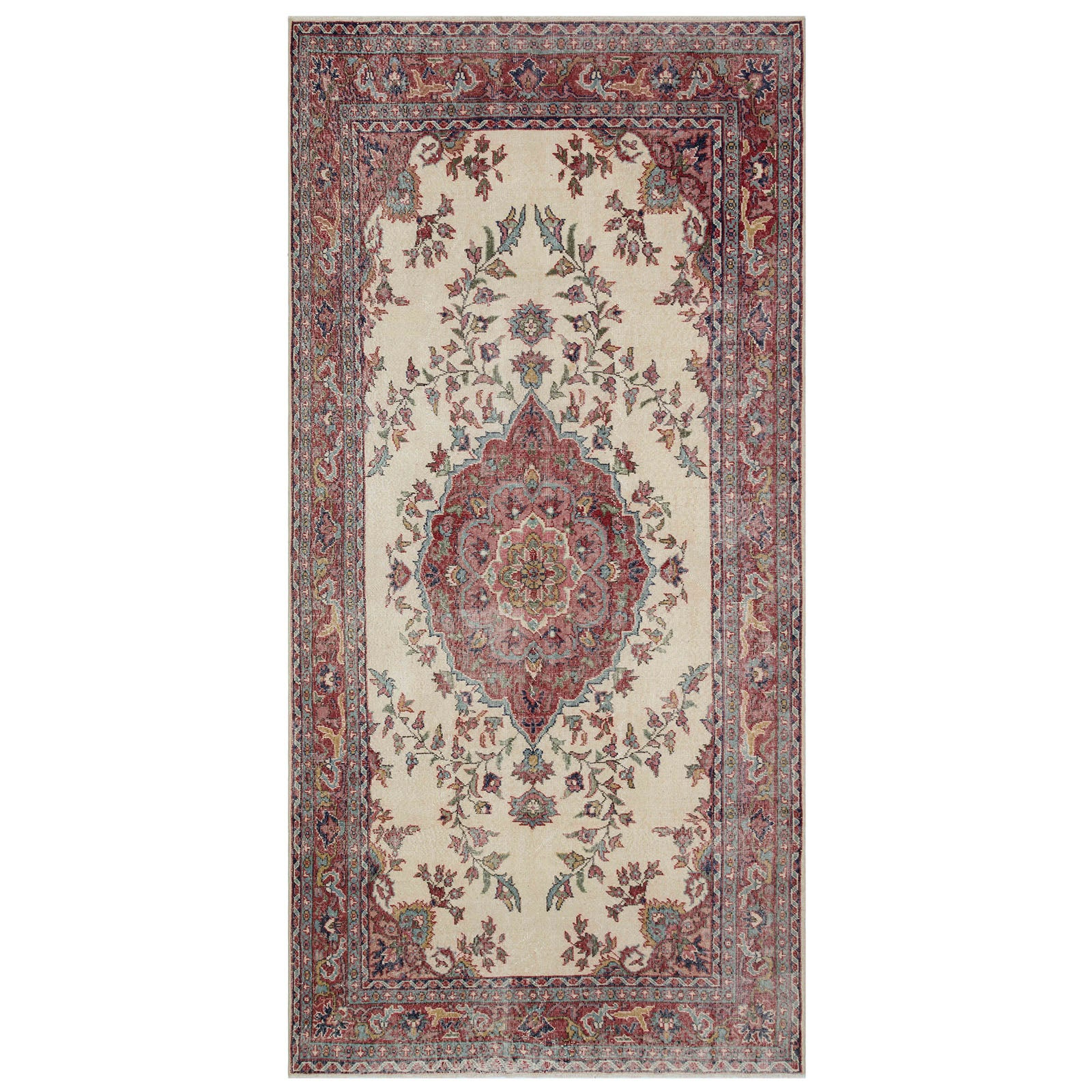 Hali 166X330 CM Bursa Handmade over dyed rug 1774