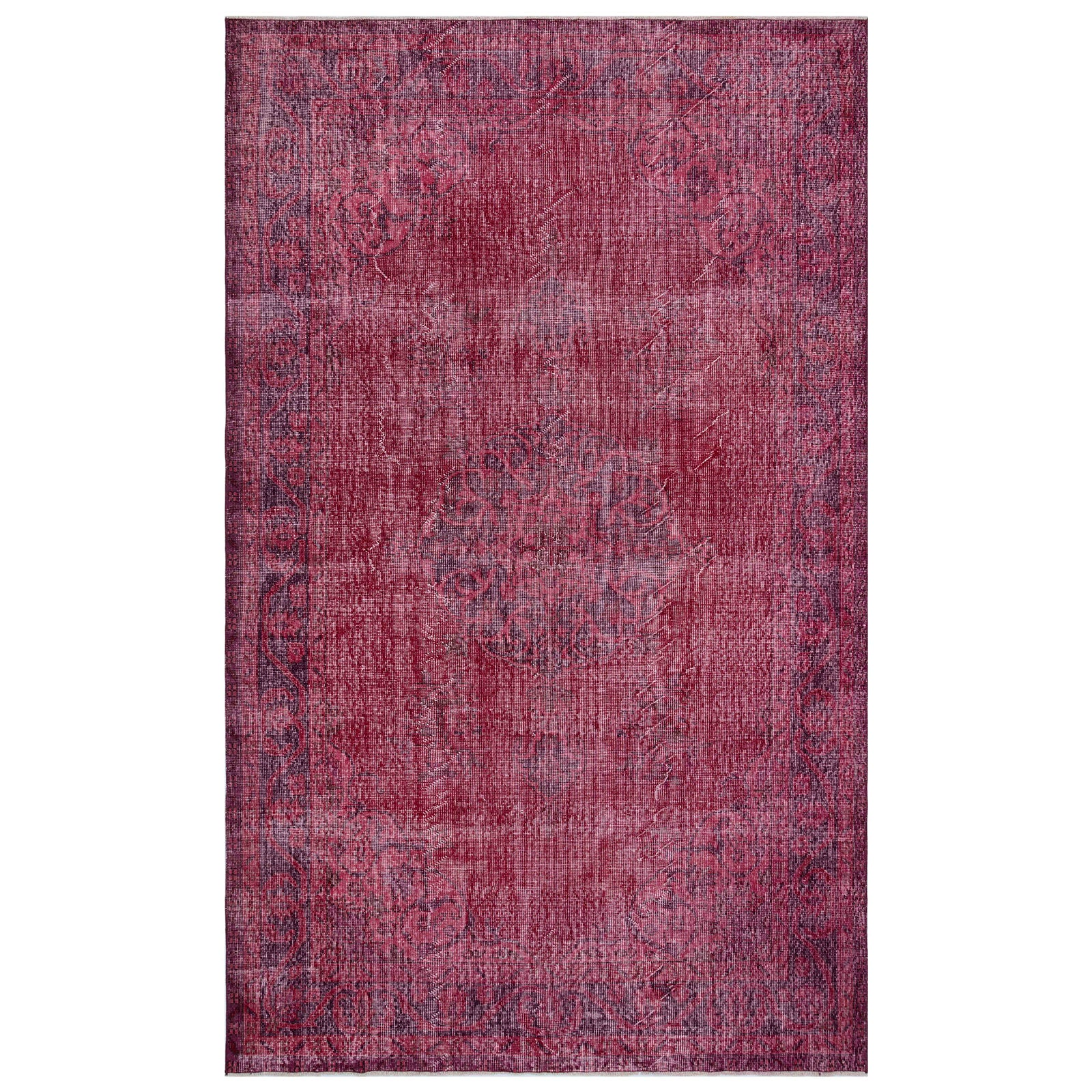 Hali 183X293  CM Bursa Handmade over dyed rug 1699