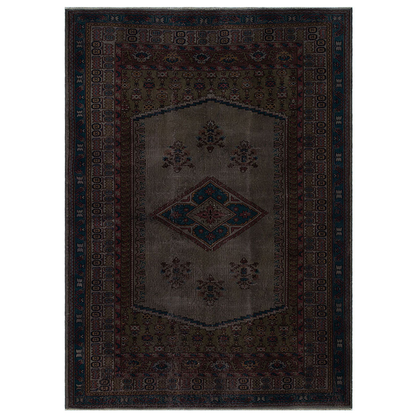 Hali 175X242 CM Bursa Handmade over dyed 2133