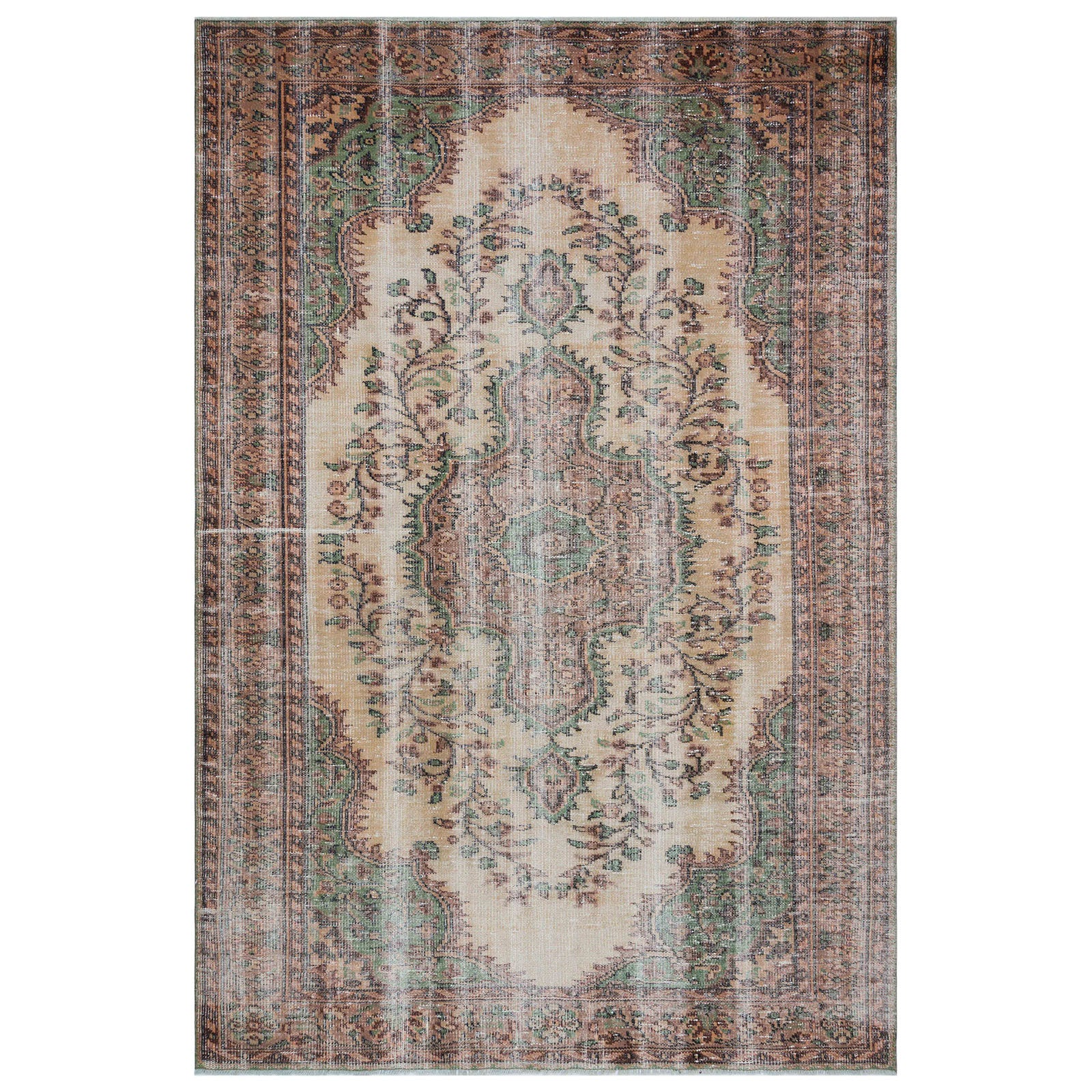 Hali 183X271  CM Bursa Handmade over dyed rug  1684