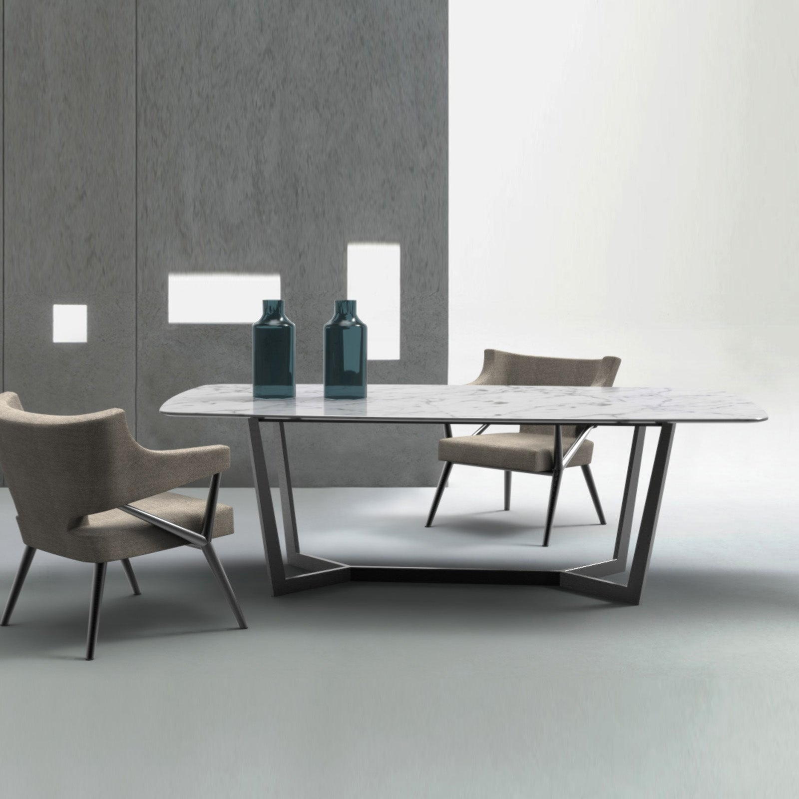 Venice  Natural marble Dining table 234DT