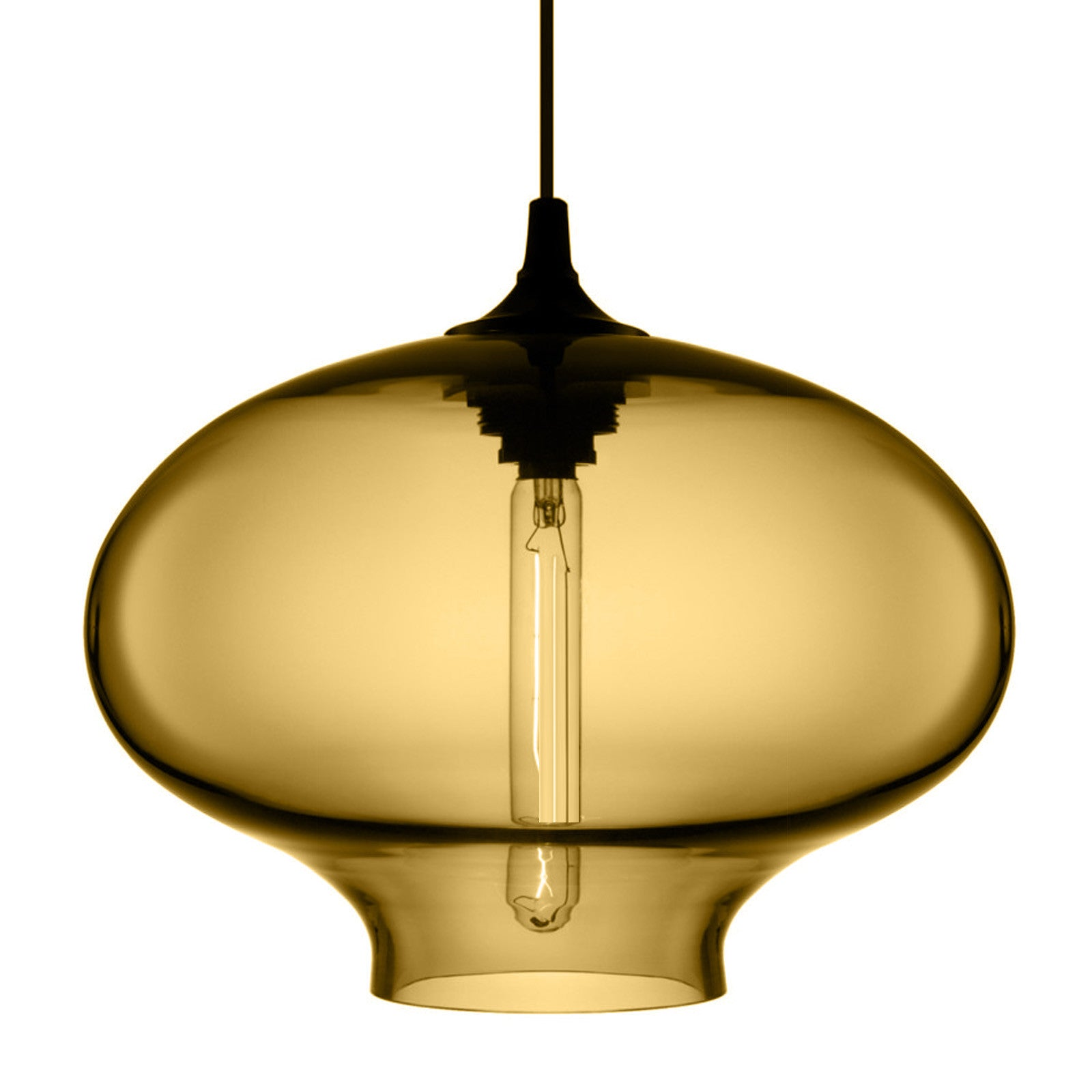 Amber Glass Pendant lamp  CY-DD-JYG-6A -  مصباح معلق من زجاج العنبر - Shop Online Furniture and Home Decor Store in Dubai, UAE at ebarza