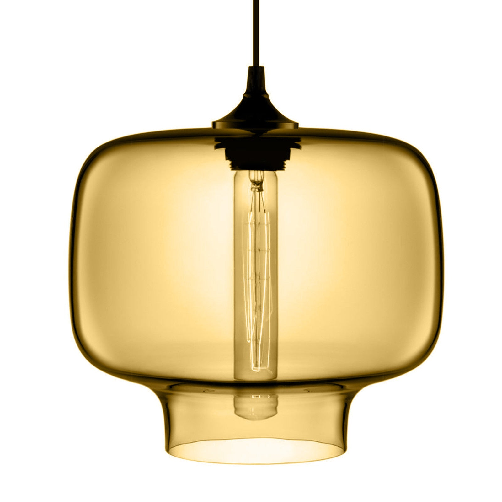 Amber Glass Pendant lamp  CY-DD-JYG-5A -  مصباح معلق من زجاج العنبر - Shop Online Furniture and Home Decor Store in Dubai, UAE at ebarza