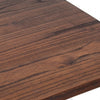 Pre-Order 30 days Delivery  Industrial bar table with solid wood top 120 cm Z-02