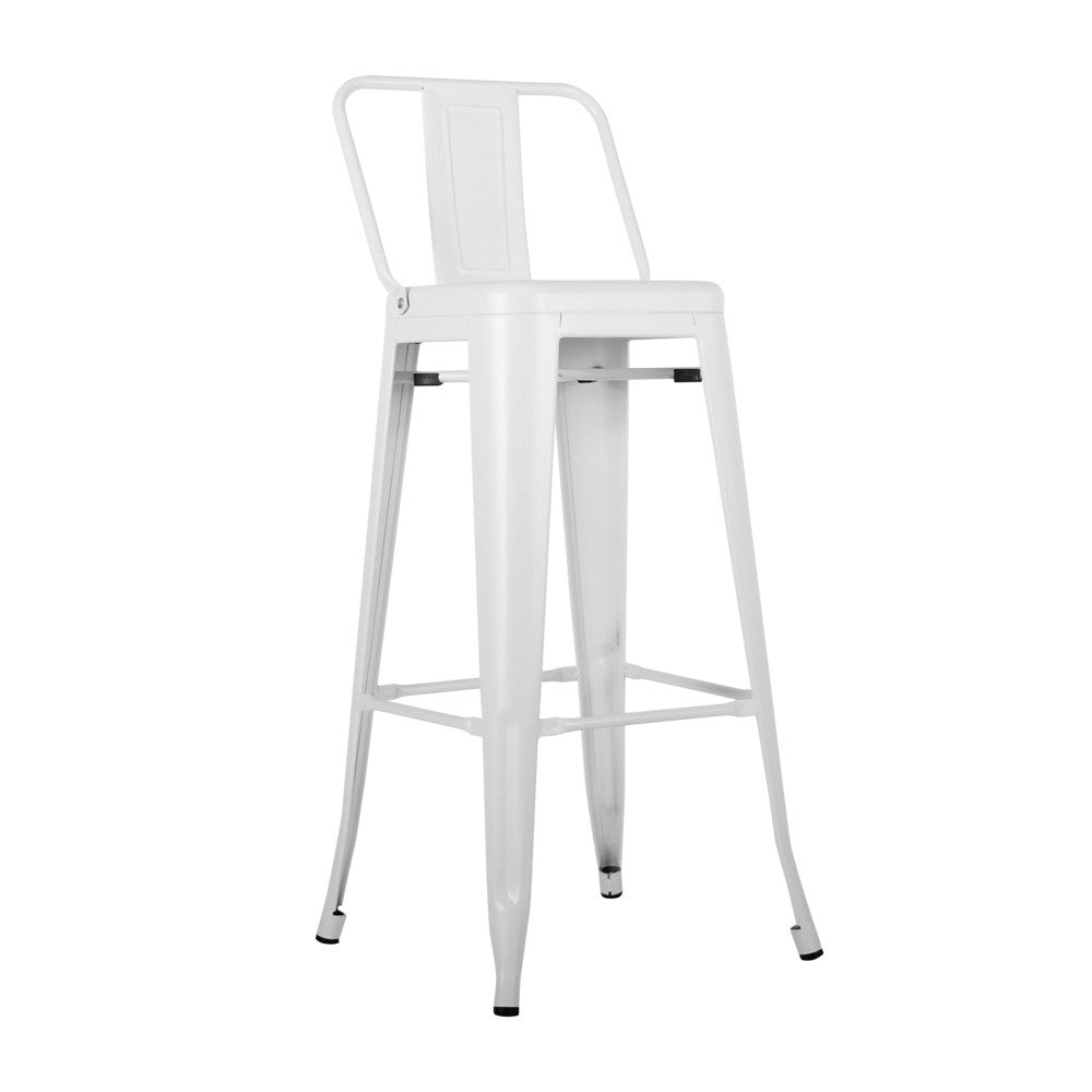 Bar Stool MC-012P-White -  كرسي بار - Shop Online Furniture and Home Decor Store in Dubai, UAE at ebarza