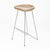 Solid Wood Bar Stool WS-034E-WLEG -  كرسي بار من الخشب الصلب - Shop Online Furniture and Home Decor Store in Dubai, UAE at ebarza