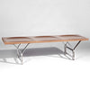 Retro Solid Wood Bench NN0316-N SMY17319-N - ebarza
