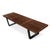 Retro Solid Wood Bench/table 152cm WS-028-W - ebarza