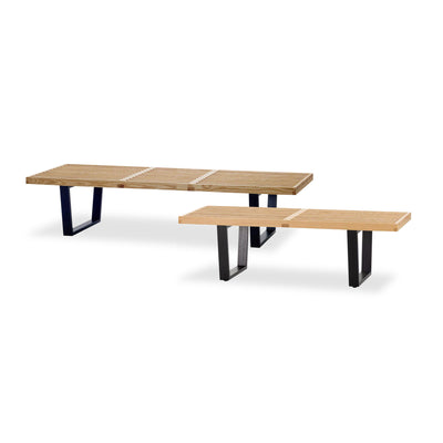 Retro Solid Wood Bench/table SMY15031A-N-WS-028B - ebarza