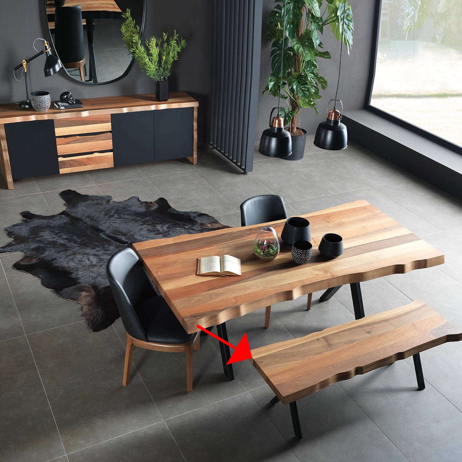 Monaco Natura Bench/coffee table  NAT-Bench - ebarza