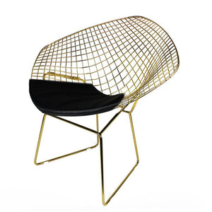 Golden Wire Chair & cushion  BP8019GO