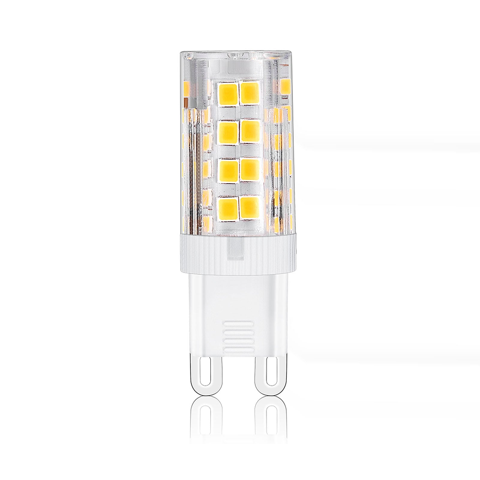 Set of 6 LED G9 bulbs YY-LED-51D-2835-220V-G9