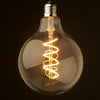 Set of 6 LED E27 Vintage bulbs G125 SPIRAL SOFT