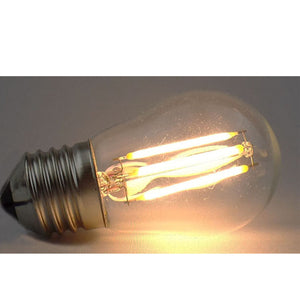 Set of 6 LED E27 Vintage bulbs G45-6W