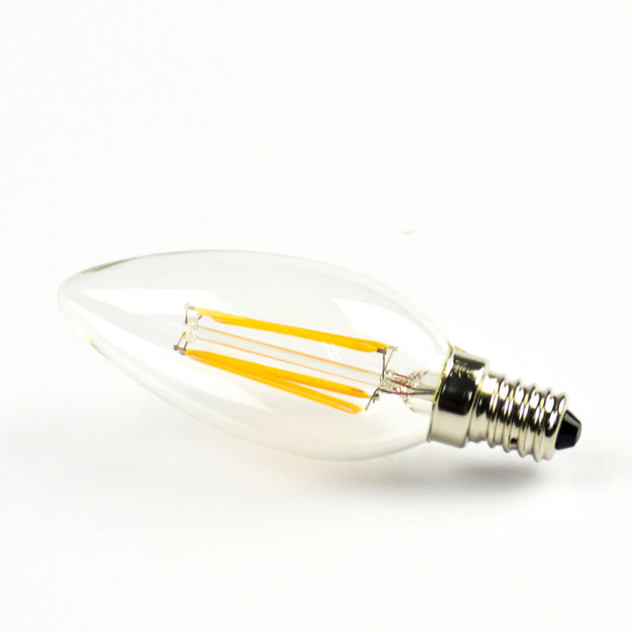 Set of 6 LED Vintage bulbs C35-6W