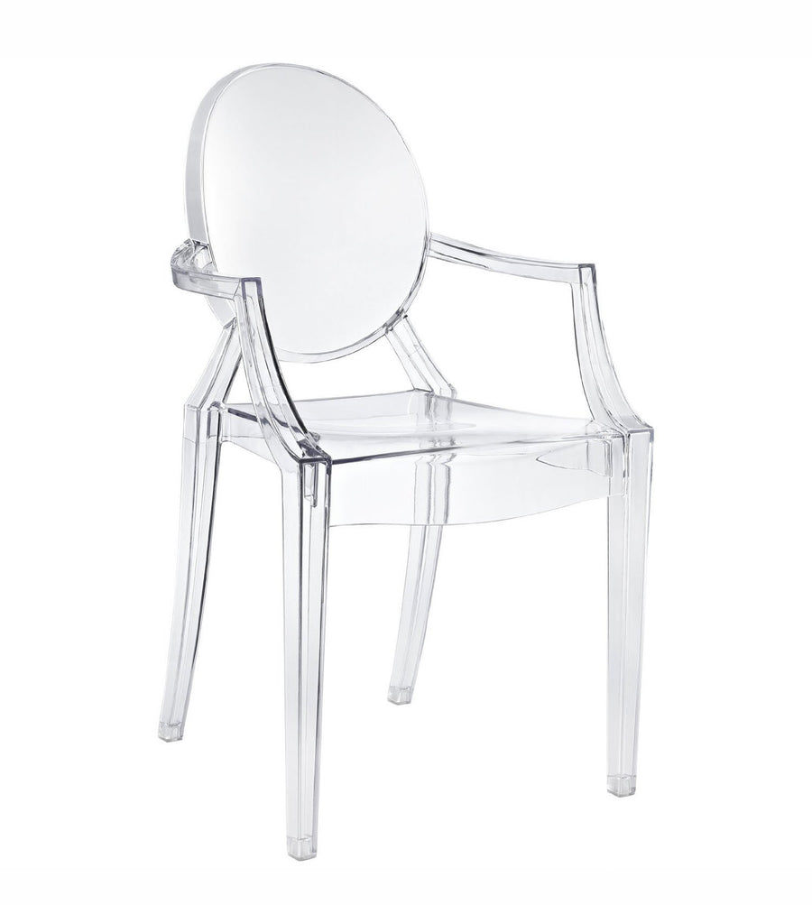 Acrylic kristal clear  arm Chair KGT0004-PC-099 - ebarza