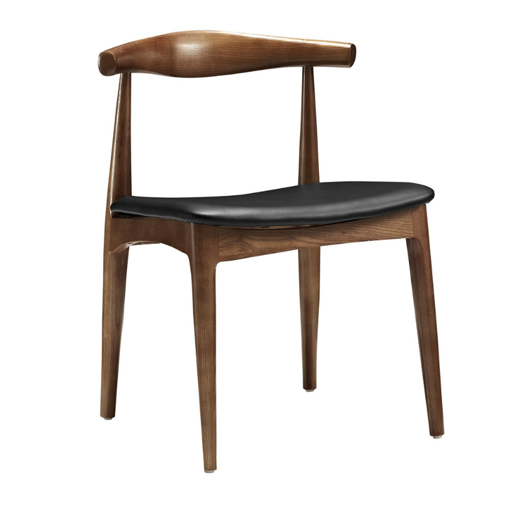 Dining Chair Solid ash wood and Genuin leather WS-021-W - ebarza