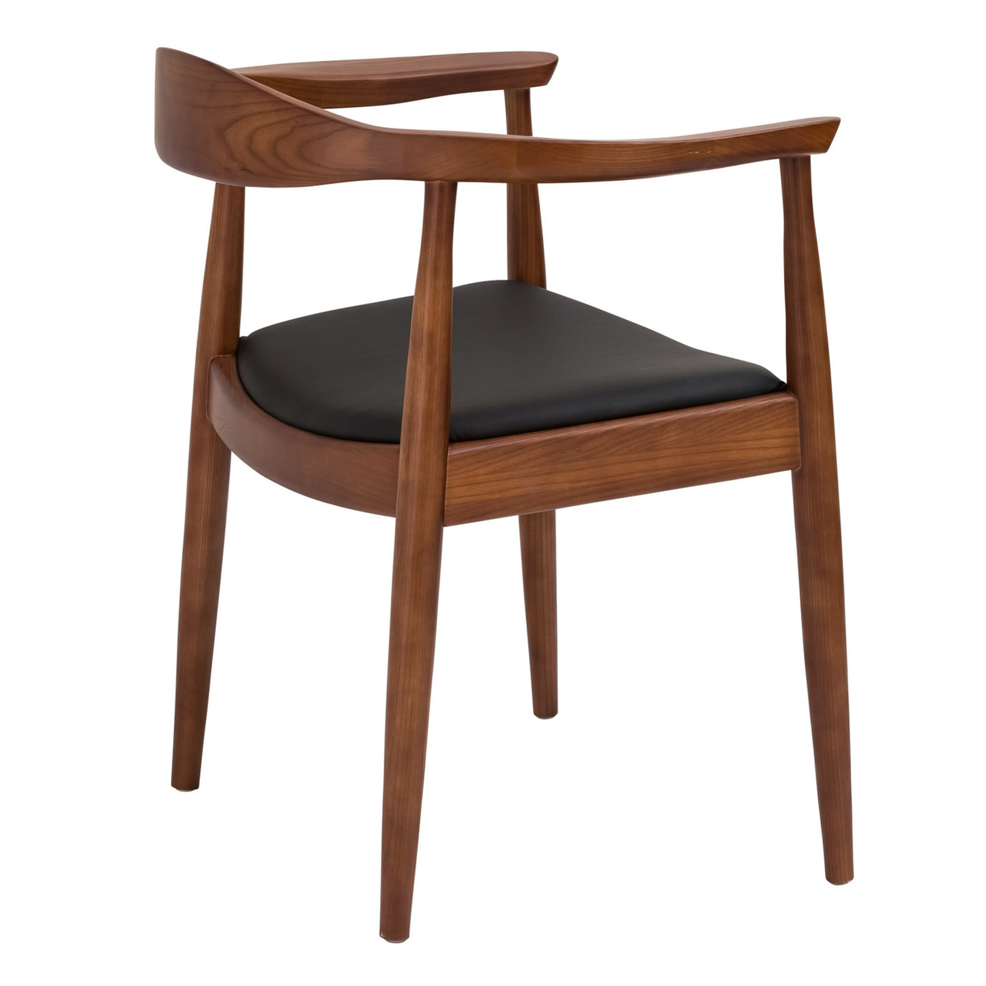Dining Chair  Solid Ash wood and Genuin Leather WS-037 -  كرسي طعام خشب رمادي صلب وجلد طبيعي - Shop Online Furniture and Home Decor Store in Dubai, UAE at ebarza