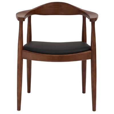 Chair - Dining Chair  Solid Ash Wood And Genuin Leather HW 00322W