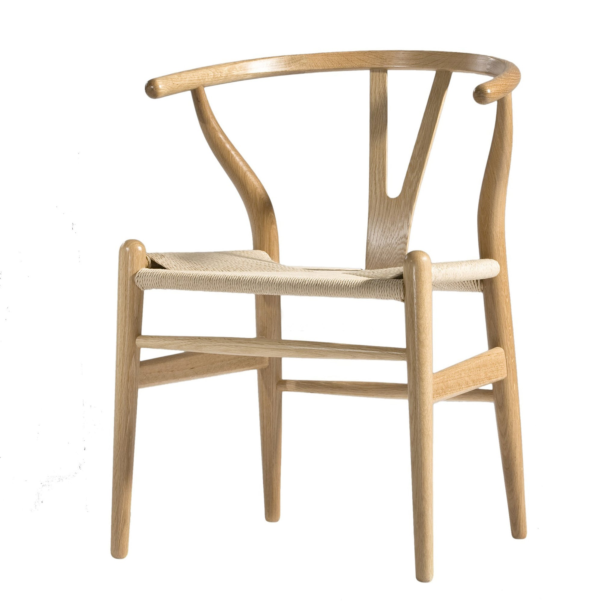 Dining Chair Solid ash wood and Natural Cord Seat WS-001A-N - ebarza