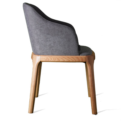 Chair - Dining Chair Solid Ash Wood  GRA-A-N