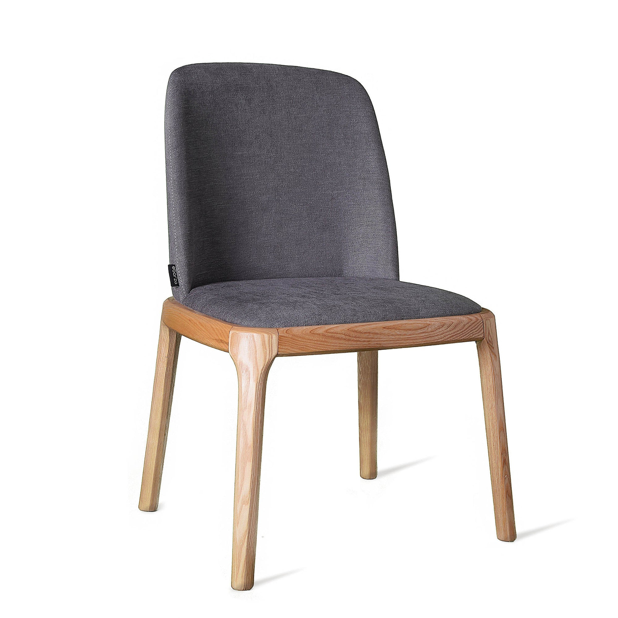 Dining Chair Solid Ash wood  GRA-NA-N -  كرسي طعام خشب رمادي صلب - Shop Online Furniture and Home Decor Store in Dubai, UAE at ebarza
