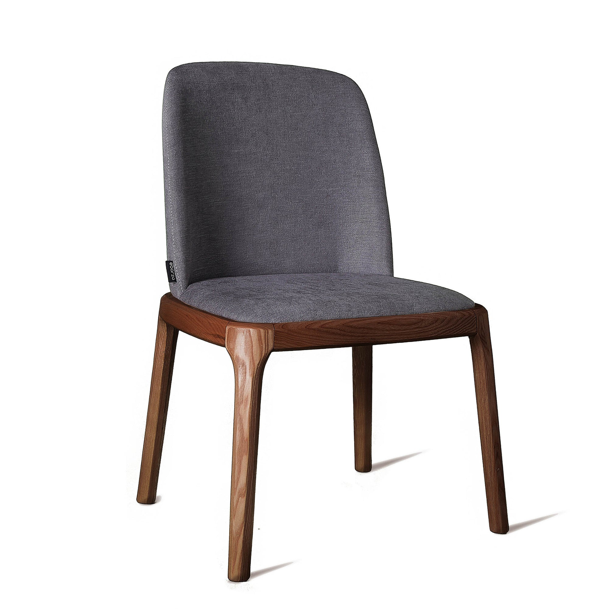 Dining Chair Solid Ash wood  GRA-NA-W -  كرسي طعام خشب رمادي صلب - Shop Online Furniture and Home Decor Store in Dubai, UAE at ebarza
